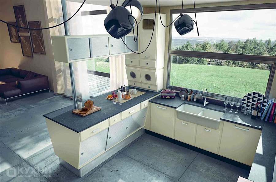 Кухня в стиле Ретро 11