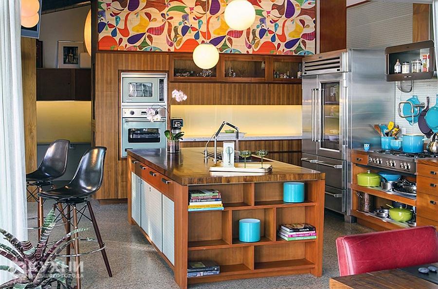 Кухня в стиле Ретро 12
