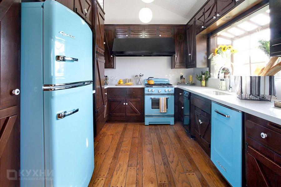 Кухня в стиле Ретро 4