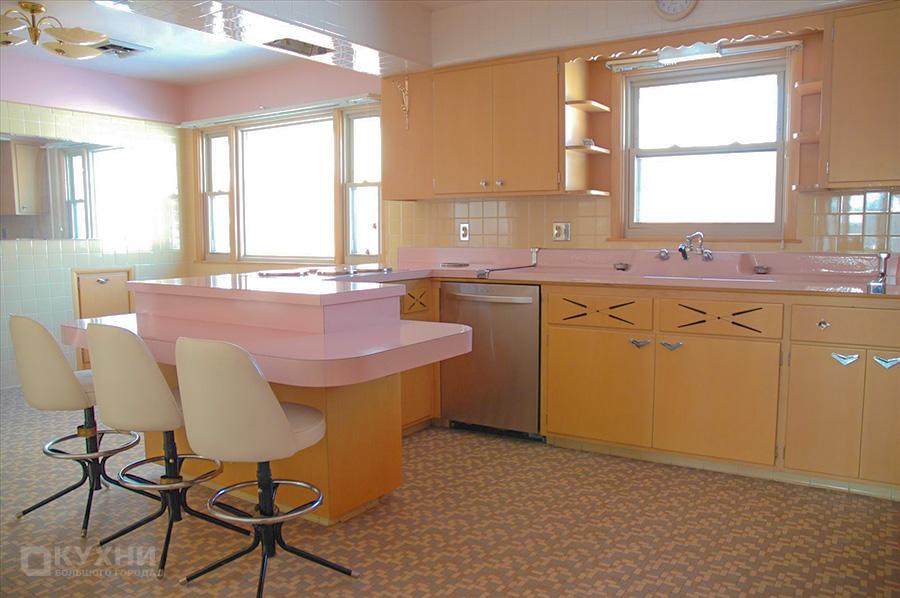 Кухня в стиле Ретро 6