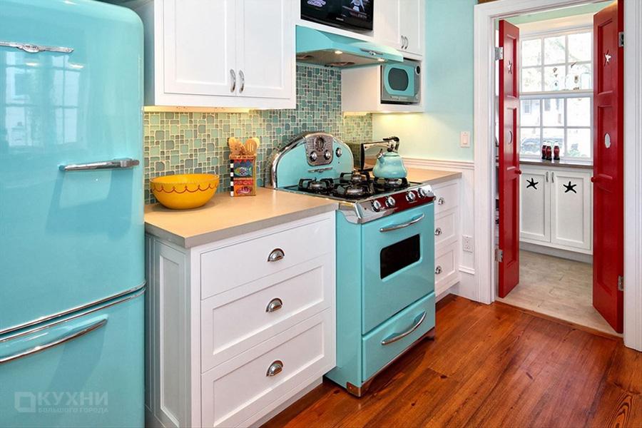 Кухня в стиле Ретро 7