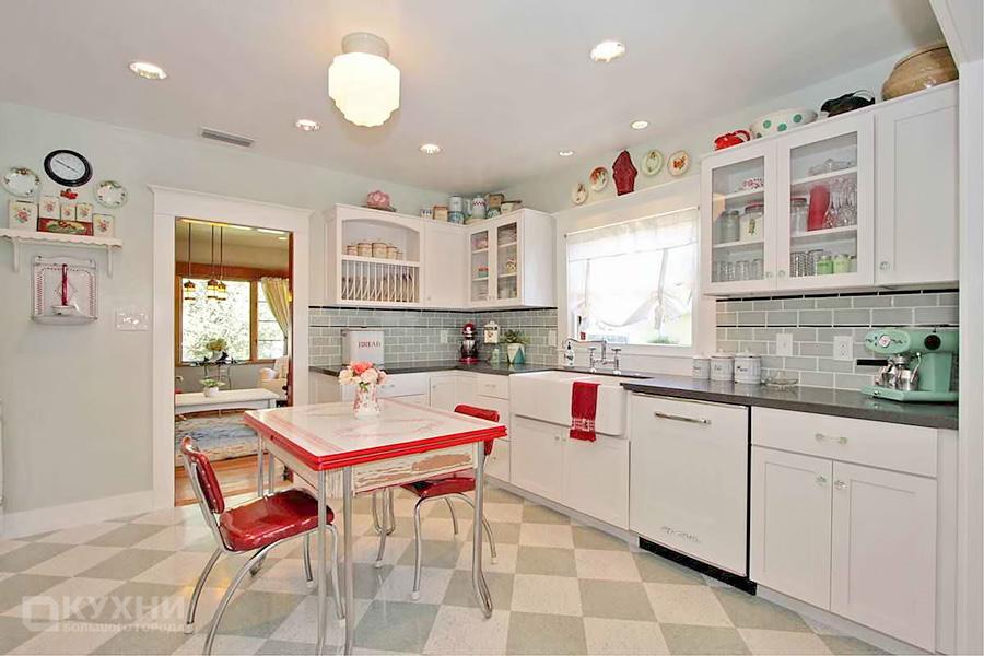 Кухня в стиле Ретро 8