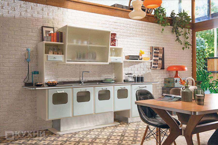Кухня в стиле Ретро 9