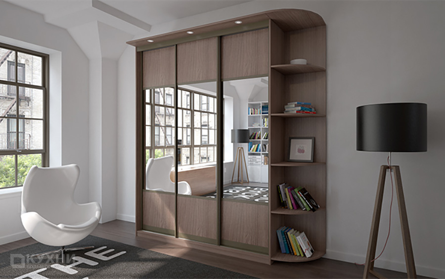 Распашные и комбинированные шкафы 4