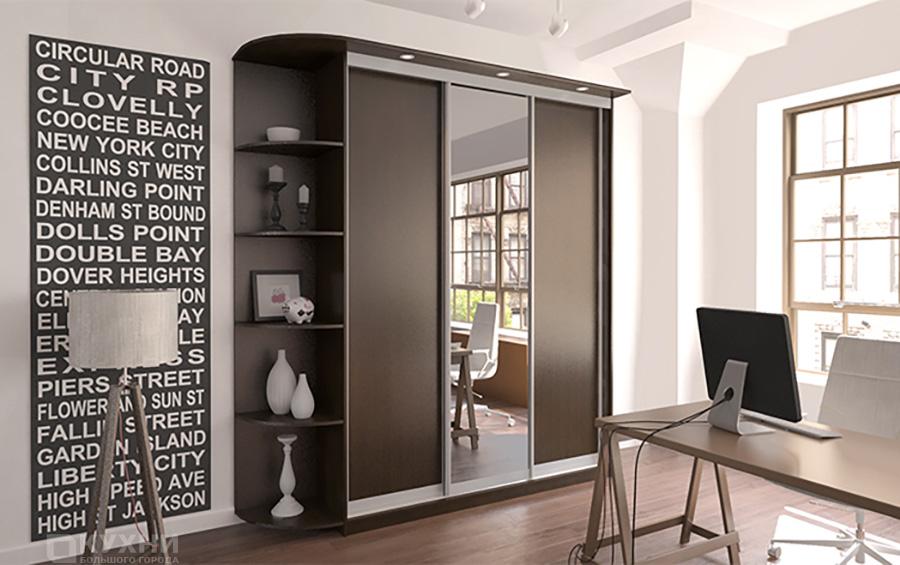 Распашные и комбинированные шкафы 5