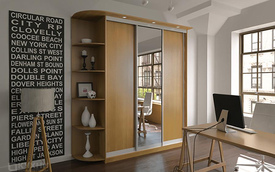 Распашные и комбинированные шкафы 6