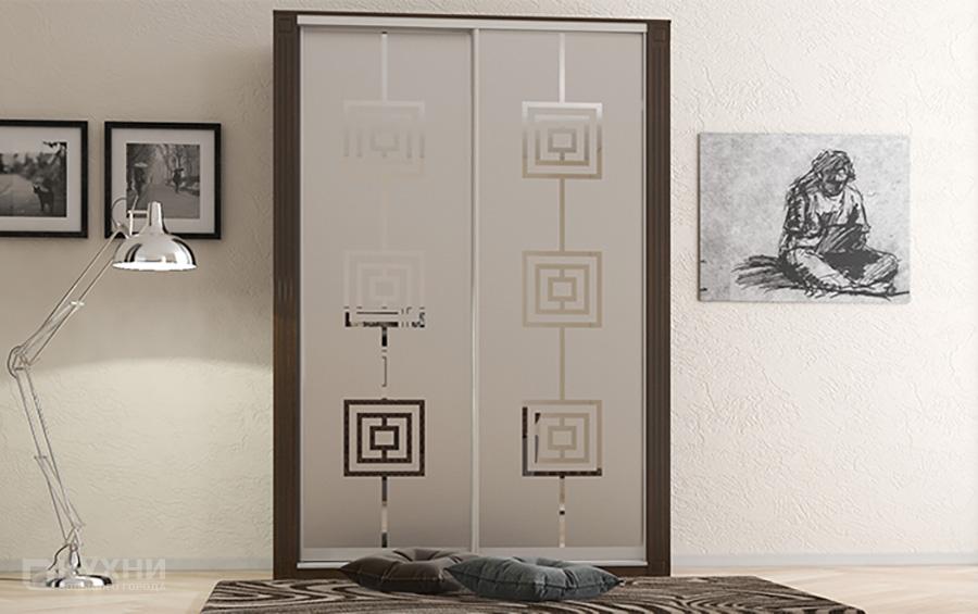 2х дверный шкаф 3