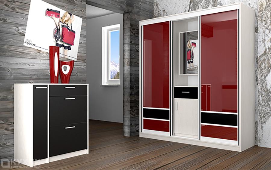 Распашные и комбинированные шкафы 12