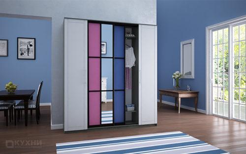 Распашные и комбинированные шкафы 14